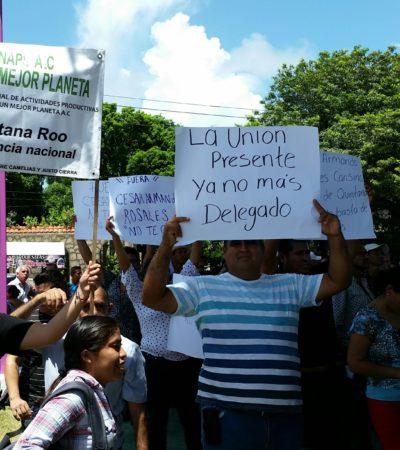 Piden campesinos destitución del delegado de Sagarpa durante visita del Secretario de la dependencia federal