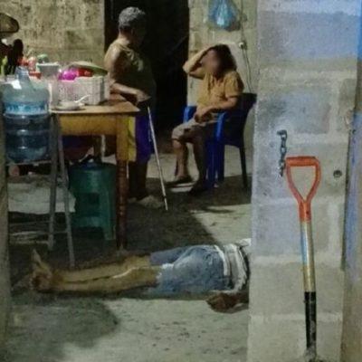 Ejecutan a anciano que vendía drogas y balean a su mujer en Tabasco
