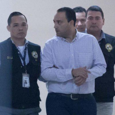 BORGE, AMARRADO DE PIES Y MANOS EN CÁRCEL CLANDESTINA, DICEN: Amplía defensa de ex Gobernador demanda contra Panamá por violación de derechos humanos