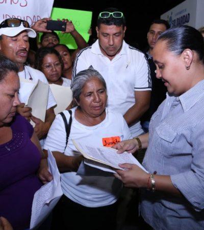 Realiza Cristina Torres audiencia pública en Villamar I