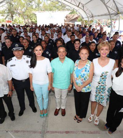 Entran en operación los Grupos Especializados de Atención a la Violencia Familiar y de Género en Puerto Morelos