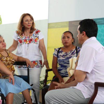 Realiza Carlos Joaquín otra audiencia pública para escuchar demandas de ciudadanos de José María Morelos