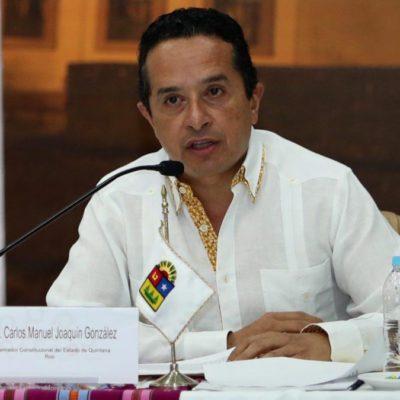 REUNIÓN DE LA CONAGO EN TUXTLA: Propone Carlos Joaquín construcción de un programa regional de turismo sustentable