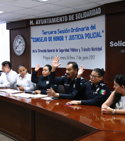 CESAN A POLICÍA AGRESIVO: Advierte Alcaldesa que agentes que infrinjan la normatividad serán destituidos