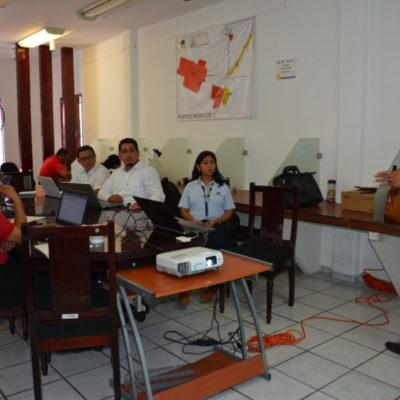 Capacitan a personal de la Sedesi en sistemas de información geográfica