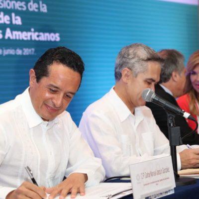 Quintana Roo se fortalece en materia turística con apoyo de la OEA, dice Carlos Joaquín