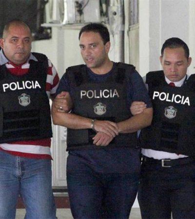 VIDEO | Trasladan a Borge a la Dirección de Investigación Judicial de Panamá tras ser detenido por la Interpol en el aeropuerto de Tocumen