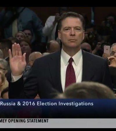 Ex director del FBI acusa a Trump de mentirle al público sobre su persona y sobre el personal de la agencia