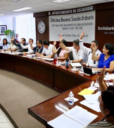 Aprueba Cabildo creación de Comisión para implementar energías limpias en Solidaridad