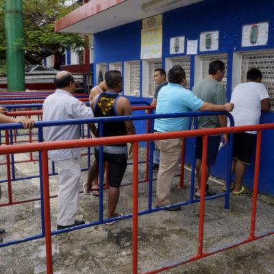 Se preparan aficionados para el partido América contra Atlante en Cancún