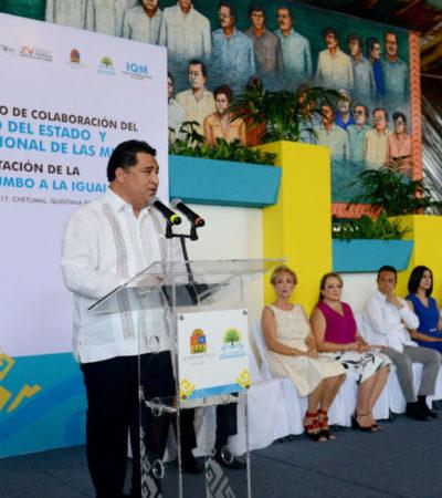 Congreso, comprometido en hacer ley anhelo de igualdad: Martínez Arcila