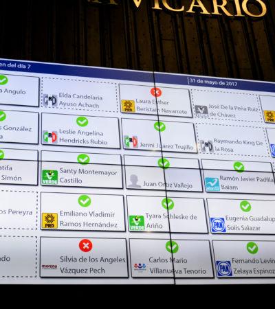 Avalan diputados reorganización administrativa del Gobierno del Estado