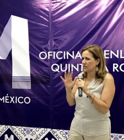 Urge Margarita Zavala a que PAN defina métodos para seleccionar candidato presidencial