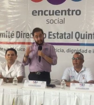 Oficializan nombramiento de Greg Sánchez como líder estatal del PES; hubo confusión, reconoce líder nacional de ese partido