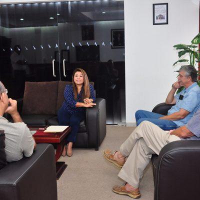 Se reúne Alcaldesa de Tulum con colonos del fraccionamiento Akumal Caribe