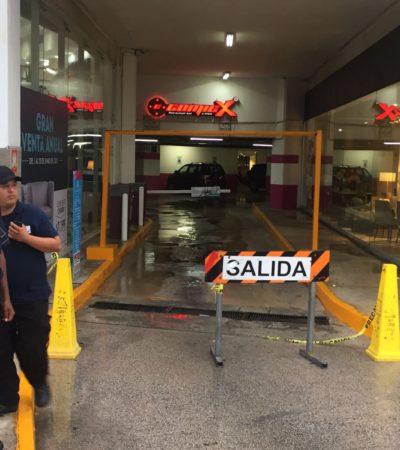 EJECUTADO EN MALECÓN LAS AMÉRICAS: Balean a una persona y muere en estacionamiento de la plaza en Cancún, el primero de la era de Darwin Puc