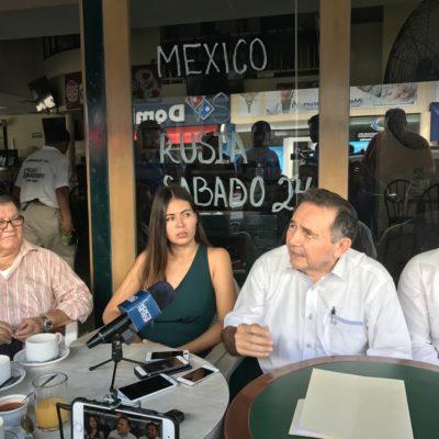 Tras amenaza priista, reconoce José Luis Pech que algunos usaron a Morena sólo como amago para beneficiarse