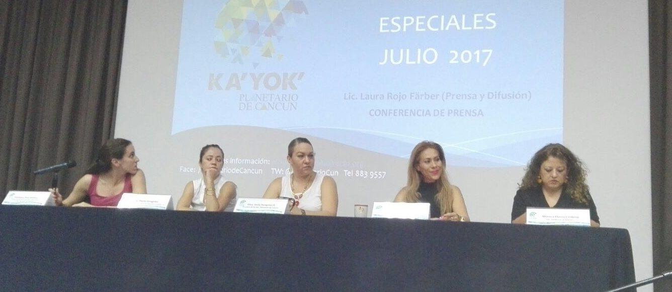 Alistan festejo del 4to. aniversario del Planetario Ka'Yok'en Cancún