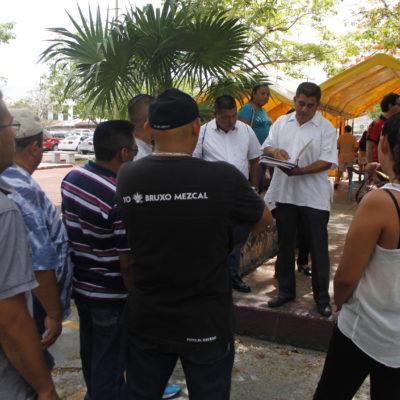 Demandan policías mejorar condiciones laborales en Seguridad Pública de Cancún