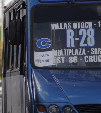 YA ES OFICIAL INCREMENTO AL TRANSPORTE EN CANCÚN: Publican en el Diario Oficial aumento autorizado de tarifas