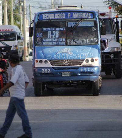 ABUSO DE TRANSPORTISTAS EN CANCÚN: Empiezan a cobrar incremento autorizado en el pasaje antes de que entre en vigor en Cancún | VIDEO