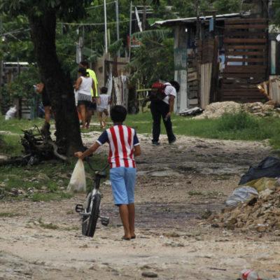 EL OTRO ROSTRO DE CANCÚN | El abandono y las lluvias le pegan doble a la colonia irregular 'La Jungla'