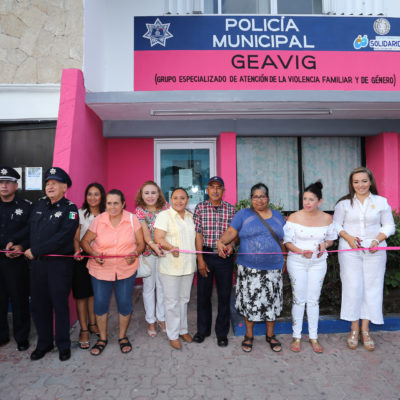 Ponen en marcha el Grupo Especializado de Atención de la Violencia Familiar y de Género en Solidaridad