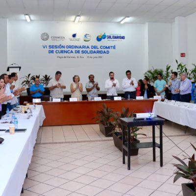 Se integra Solidaridad a red internacional para el cuidado del agua