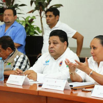 Declara Cristina Torres a Solidaridad listo para la temporada de huracanes