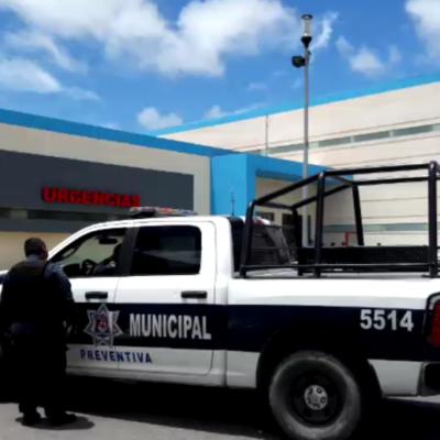 Vigilan policías y Marina Hospital General de Cancún donde convalecen sicarios