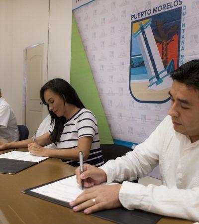 Firman convenio para aterrizar módulo de Telecomm a Leona Vicario