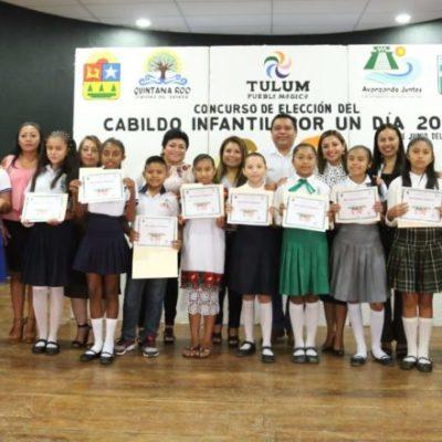 Elige Tulum a su Cabildo infantil por un día