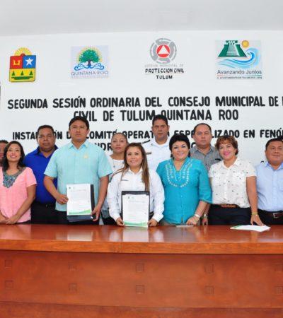 Instalan comité especializado en huracanes en Tulum