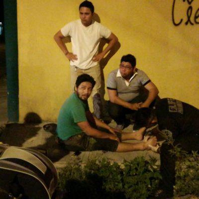 ARROLLADO POR 'AUTO FANTASMA': Atropellan a motociclista en Cozumel