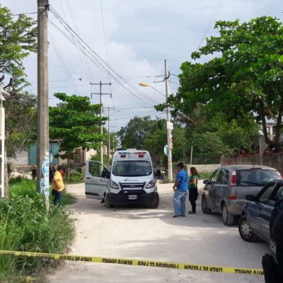 Encuentran persona muerta en la colonia irregular 'Misericordia' de Cancún