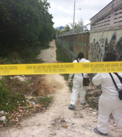 ENCUENTRAN EMBOLSADO Y DESCUARTIZADO: Hallan restos de una persona en la SM 12 de Cancún