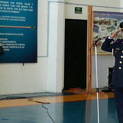 Relevan a responsable de la BAM#4 en Cozumel