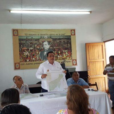 Promoverán creación del doceavo municipio en Nicolás Bravo