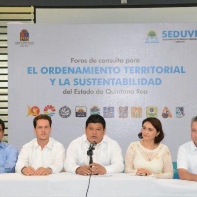 Inicia en Chetumal foro de consulta para elaborar programas de ordenamiento territorial de OPB