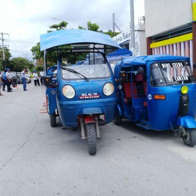 Ventilan abusos y negociazo de líder sindical a costa de mototaxistas de Puerto Aventuras