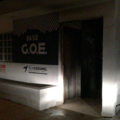 SE DESATA LA VIOLENCIA EN COZUMEL: Lanzan bombas 'molotov' contra dos casetas de policías