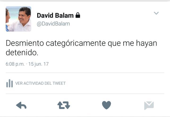 DESMIENTE DAVID BALAM DETENCIÓN: Ex Alcalde de Tulum sale al paso a versiones difundidas en redes y publicadas en algunos portales