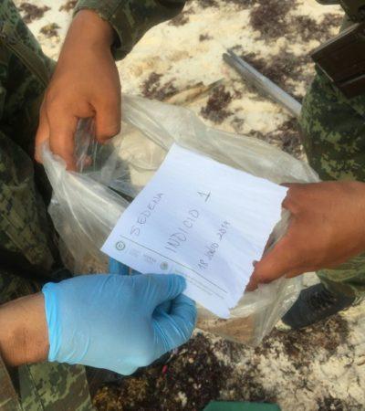 RECALA MARIHUANA EN COZUMEL: Hallan 1.5 kilos en la zona de Punta Molas