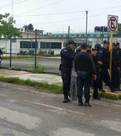 Emite 'ombudsman' medida cautelar a la Secretaria de Seguridad Pública por motín en el Cereso de Chetumal