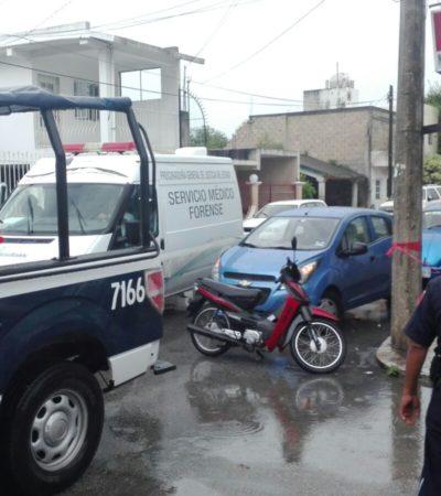 Se suicida una persona en la colonia Chen-Tuk de Cozumel
