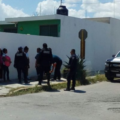 Movilización policiaca por presunto 'levantón' en Chetumal de subdelegada del RAN; apareció en su domicilio