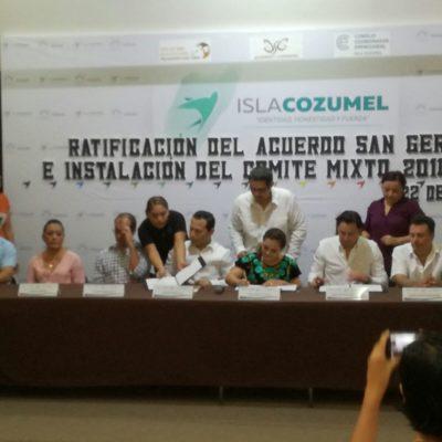 RATIFICAN ACUERDO DE SAN GERVASIO: Alegra a asociaciones civiles de Cozumel llegada de recursos