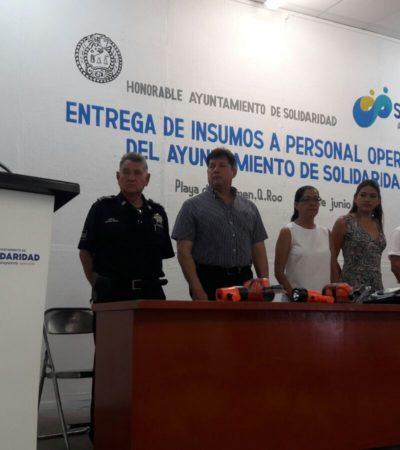 Exhorta Cristina Torres a empleados a hacer la diferencia en Solidaridad