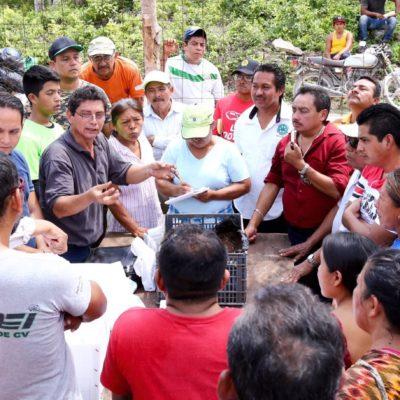 Gestiona Solidaridad ventanilla única para apoyo al desarrollo rural