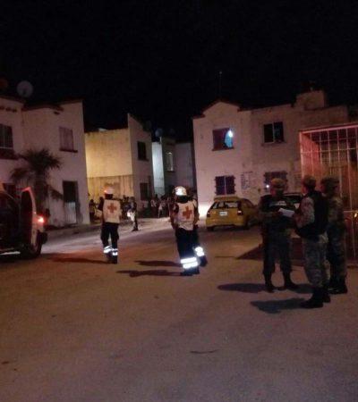 EJECUTAN A BALAZOS A OTRO EN CANCÚN: Matan a una persona en una vivienda de la Región 259